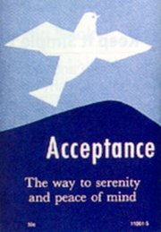 Acceptance Way Serenity Peace Mind product image