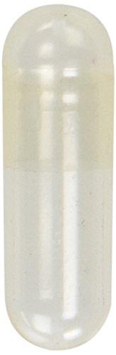 Empty Gelatin Capsules 0 Size - 500 Empty Gelatin (500 Empty Gelatin Capsules)