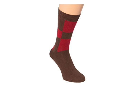 Mehrfarbig 40 Braun Colori Chaussettes Homme Rot Multicolore Basses 6ZXw6