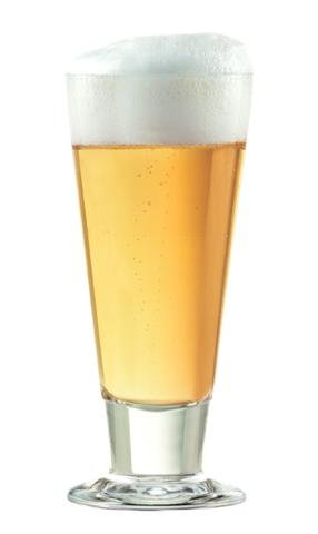 SET of 1 or 2-pc Luminarc 'Lexington' 10 Oz Crystal-Clear Beer and Beer Cocktails Pilsner Glasses (1)