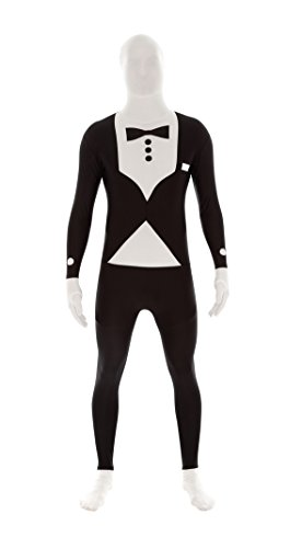 - 31arU19gMTL - M-Suit Adult Costume Second Skin Bodysuit from the Makers of Morphsuits Various Colors