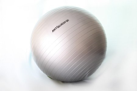 Cheap Anti Burst Yoga Ball 75 cm with Hand Pump. 600 lbs capacity. Best Quality. GS Qualified..