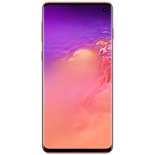 Samsung Galaxy S10 Factory Unlocked Android Cell Phone | US Version | 512GB of Storage | Fingerprint ID and Facial Recognition | Long-Lasting Battery | U.S. Warranty | Flamingo Pink