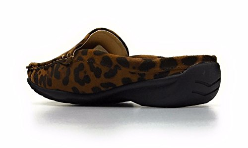 Mule Vegan Patent Pierre Cheetah Croco Women's Slip Hazel On Dumas Leather 23 nRRT6v7
