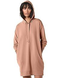 Women's Iona Long-sleeve Hooded Mini Sweatshirt Dress