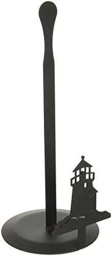 Village Wrought Iron 14 Inch Lighthouse Paper Towel Stand