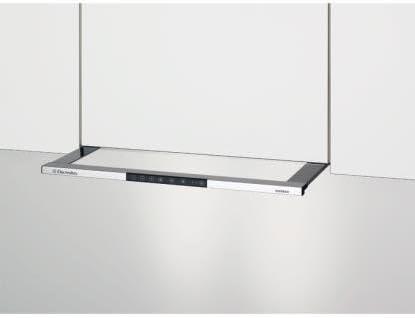 Electrolux: Modelo 2015, Faston chirm Campana, recirculación, 55 cm, cromo, dusl55 60cn: Amazon.es: Grandes electrodomésticos