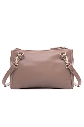 Double Zip Small Crossbody Bag Satchel for Women by AMELIE GALANTI (Image #3)