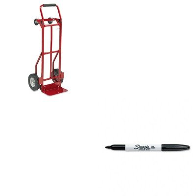 KITSAF4086RSAN30001 - Value Kit - Safco Two-Way Convertible Hand Truck (SAF4086R) and Sharpie Permanent Marker (SAN30001) (Hand Two Way Truck Convertible)