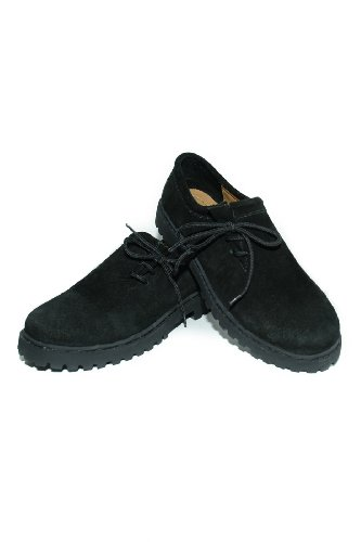 ville de Noir à Chaussures lacets trachtenhandel Noir pour homme xwHPE