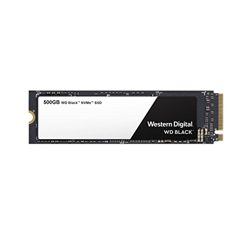 웨스턴 디지털 WD 블랙 SSD 250GB/500GB/1TB M2 2280 - Western Digital Black High-Performance NVMe PCIe Gen3 - WDS500G2X0C