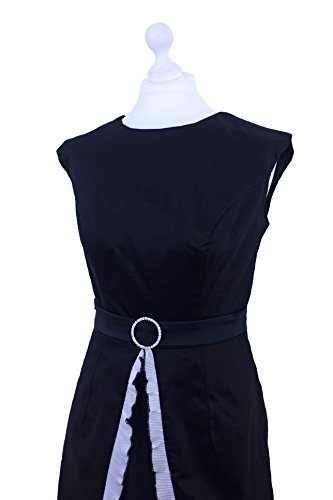 Milk Moon Vintage - Vestido - Cambio - Básico - Sin mangas - para mujer negro
