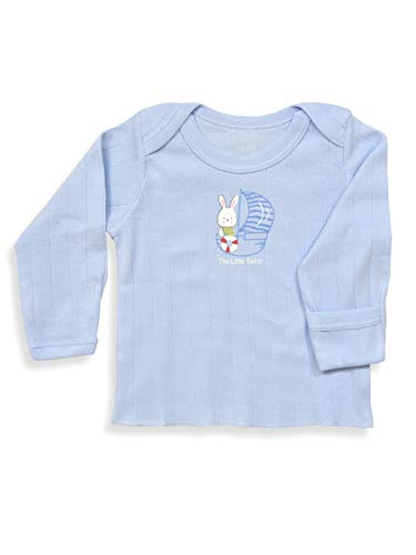 ANGAAKAR CLOTHINGS Newborn Baby Boy's and Baby Girl's Full Sleeves Mitten Vests Kids Jhabla Pack of 3 (0-1 Months, Multicolored-2)