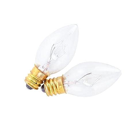 Group Of 8 Candelabra Based 7 Watt Light Bulbs For Home Decor And Design