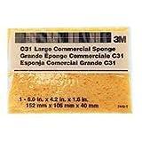 3M C31 Large Commercial Sponges