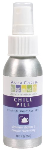 Aura Cacia Essential Solutions Mist, Chill Pill, 2 Fluid Ounce