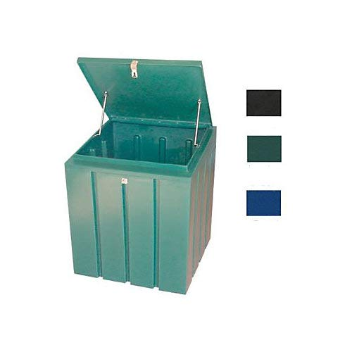 Chem Trainer Lockable Storage Feed Bin Huntergreen
