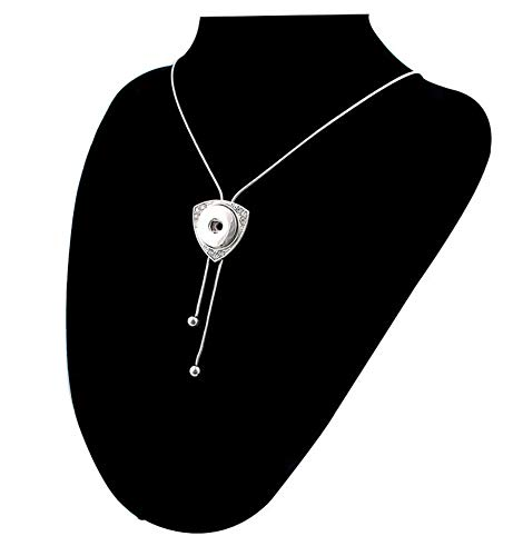 New Sale Charm Necklace Pendant Pull Closure Drill Fit 18mm Noosa Snap Button C1