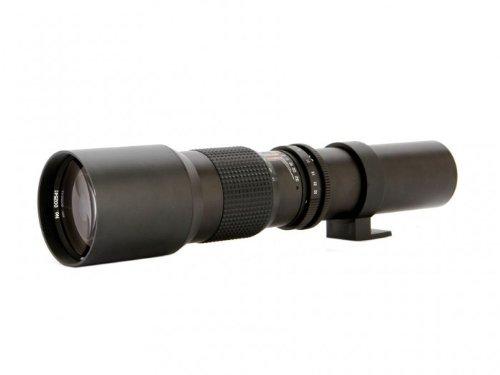 Vivitar 500mm f/8 Telephoto Lens For The Sony Alpha Series SLT-A33, SLT-A35, SLT-A37, SLT-A55, A57, SLT-A57, SLT-A57M, SLT-A57K, A58, SLT-A58, SLT-A58K, A65, SLT-A65V, SLT-A65VL, A77, SLT-A77, A77II, A99, SLT-A99V, A100, A200, A230, A290, A300, A330, A350