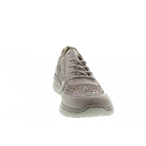 Rieker Chaussures lacets à Silber de femme ville 80 pour Ice L3229 ETqnrT