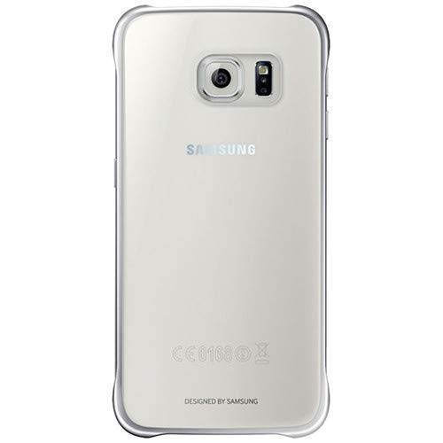 Samsung Galaxy S6 Protective Cover Silver Clear EF-QG920BSEGUS