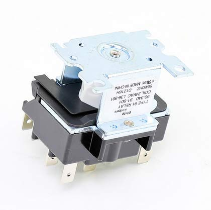White-Rodgers / Emerson 90341 2 Pole Switching Relay, 115/120 VAC, 50/60 Hz ()