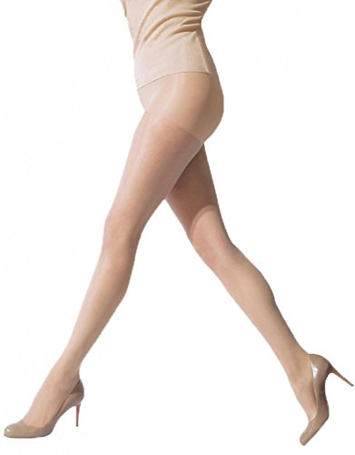 - HUE Essential Solutions Age Defiance Control Top Pantyhose, 2, Natural