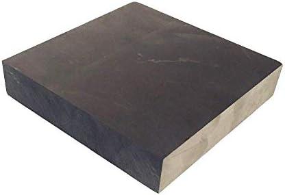 SOFIALXC 99,9% Reinheit Graphit Barrenblockerodieren Graphitplatte Fräsen Oberflächengrad Weit Verbreitet in Der Elektronik Metallurgie (100Mmx100mmx20mm)