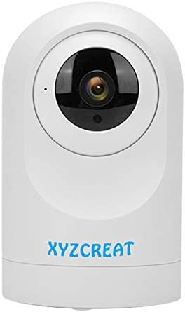 XYZCREAT 1080p Home Security Camera Wireless Cameras Work with Alexa Smart Home Camera with Motion Detection Night Vision 2-Way Talk TF Cloud Storage