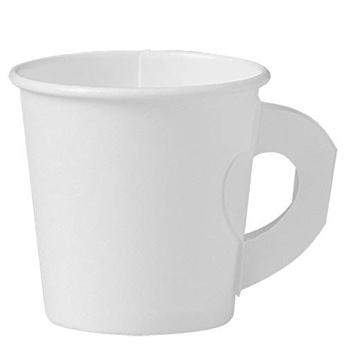 Solo 374HW-2050 4 oz White SSP Paper Hot Cup (Case of 1000)