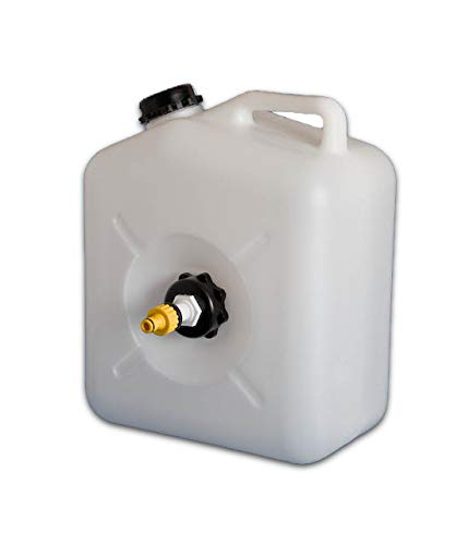 Caravan Mains Water Container with Adapter
