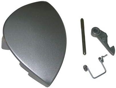 Maneta puerta Ariston Abanico gris