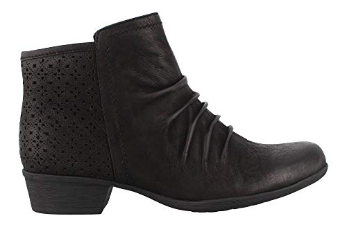 Boot Rouched Black Carly Bootie Ankle Women's Rockport wO7x0qXnAw