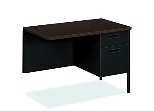 - HON HP3235R.MOCH.P Metro Classic Black Finish Laminate Right Return with 1 Box/1 File Drawer, 42
