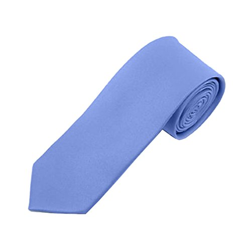 Alexander Tie - Solid Color Mens Skinny 2