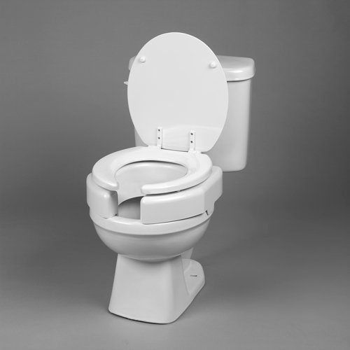 Maddak Inc. (a) Elevated Toilet Seat Secure-Bolt Bariatric by Complete Medical Supplies