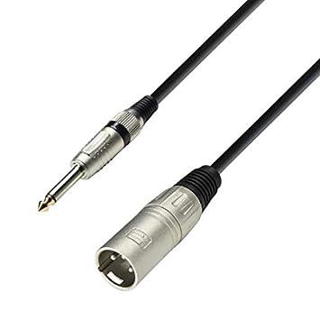 Tv- & Heim-audio-zubehör 4 X 1 M Mikrofonkabel Symmetrisch Adam Hall 3-star Xlr 3 Pol Dmx Mikrofon Kabel Perfekte Verarbeitung