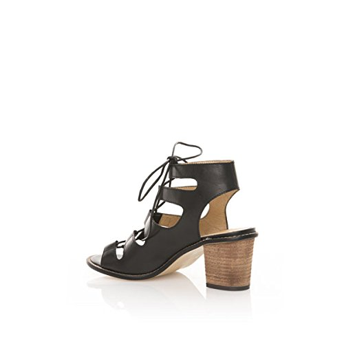 MTNG 94417 Cow Nappa Negro, Women's Sandals Black (Cow Nappa Black )