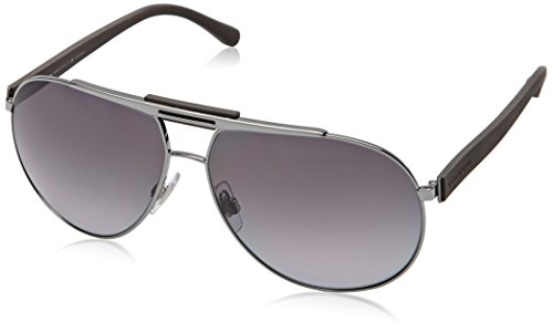Dolce and Gabbana DG2119 1186T3 Gunmetal DG2119 Aviator Sunglasses Polarised - Sunglasses Polarised Aviator