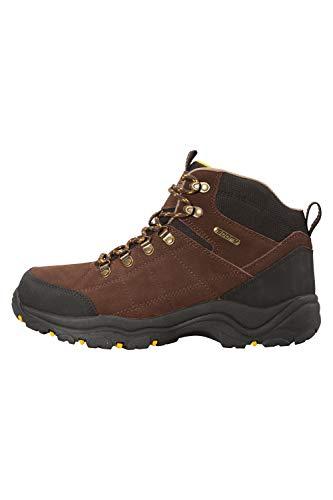 Marron pour Homme Camping Le randonnée pour Warehouse Chaussures de Semelle antichocs Protections Mountain en extérieure Caoutchouc Boreal Imperméables UCB6qTwa4
