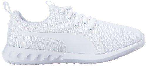 Unisex-Kids Carson 2 Sneaker, Puma White-Puma White, 10.5 M US Little Kid