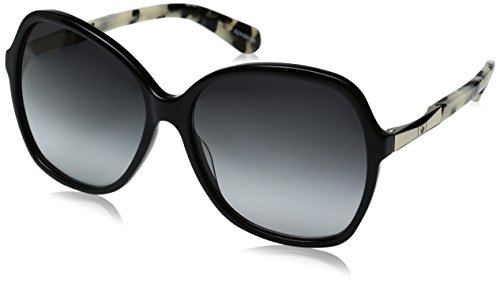 - Kate Spade Women's Jolyn Square Sunglasses, BLACK GOLD/GRAY GRADIENT, 58 mm