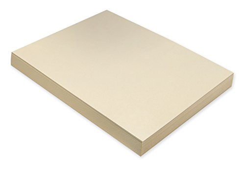 Pacon Super Heavyweight Tagboard, 9 x 12 in, Manila, Pack of 100