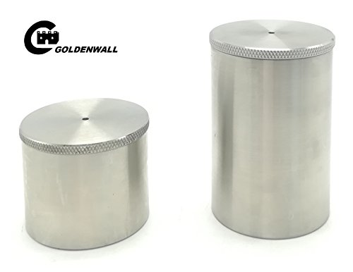 Density Specific Gravity Cups 50cc/ml 100cc/ml Stainless steel by CGOLDENWALL