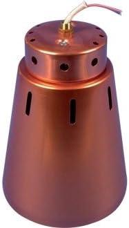 Portique Abat Jour Pour Lampe Chauffante Cuivre 9 Cm Amazon Fr