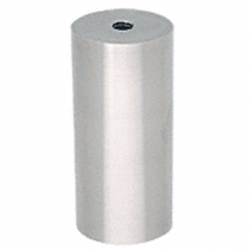 CRL Brushed Stainless Clad Aluminum 2; Diameter Standoff Bases ACSB26BS