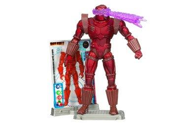 Free Iron Man 2 Comic Series Action Figure Crimson Dynamo by Hasbro