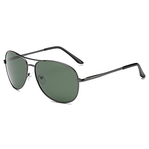 hibote Homme Eyewear Femme Polaris¨¦ Lunettes de soleil Driving Glasses UV400 Gun Cadre/Dark Green