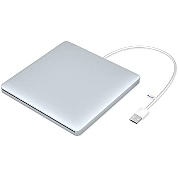 VersionTech USB External DVD CD Drive Burner Superdrive for Apple Mac Macbook Pro/ Air iMac Laptop, Retail Package