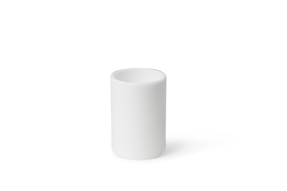 CoorsTek 65530 High-Alumina Cylindrical Crucible, 2mL Capacity, 13mm